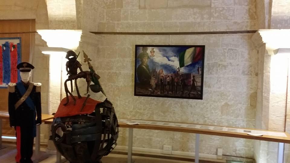 Collettiva d'arte e divise storiche