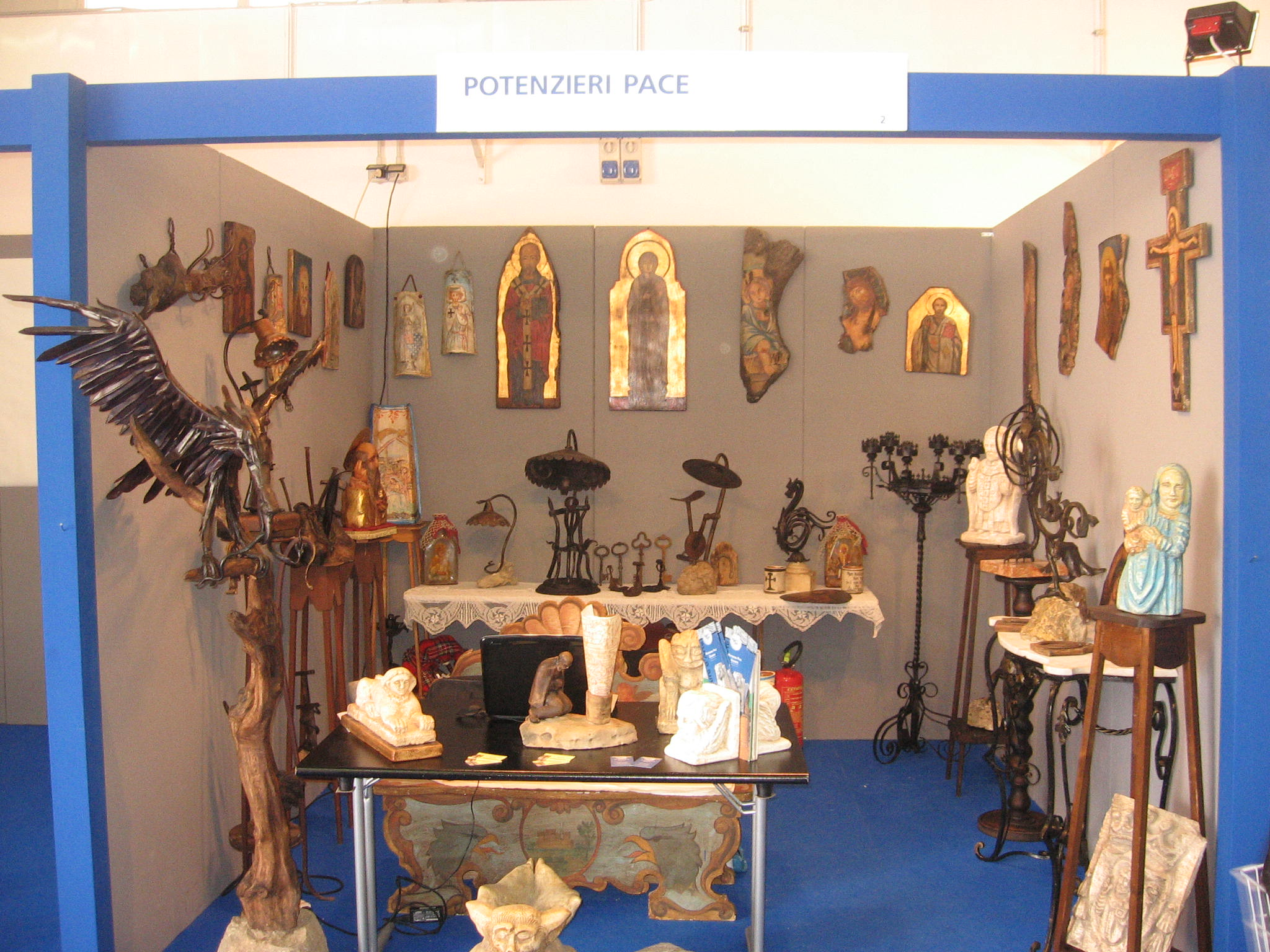 spazio aperto all'arte Expolevante 2009