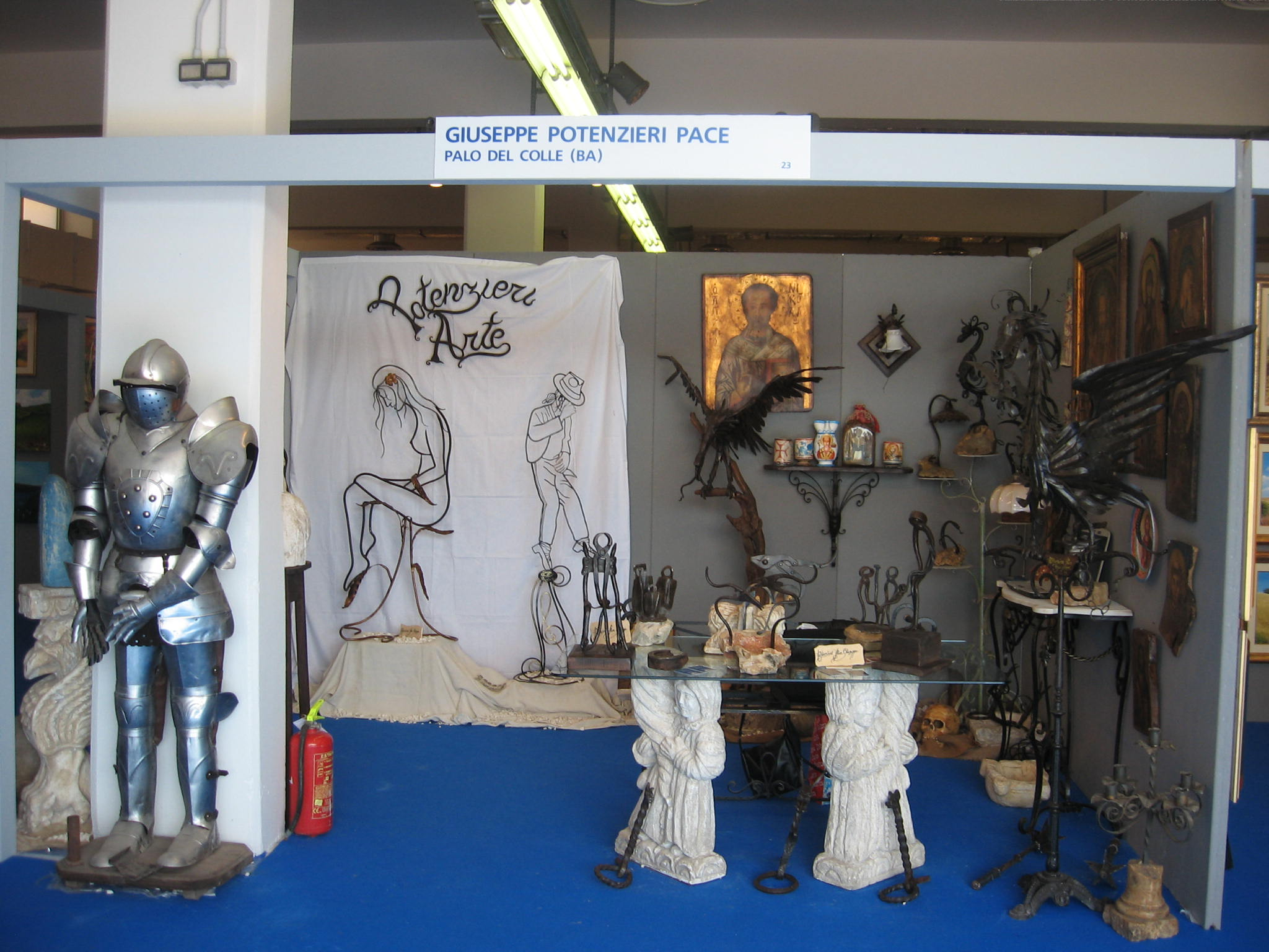 spazio aperto all'arte Expolevante 2011
