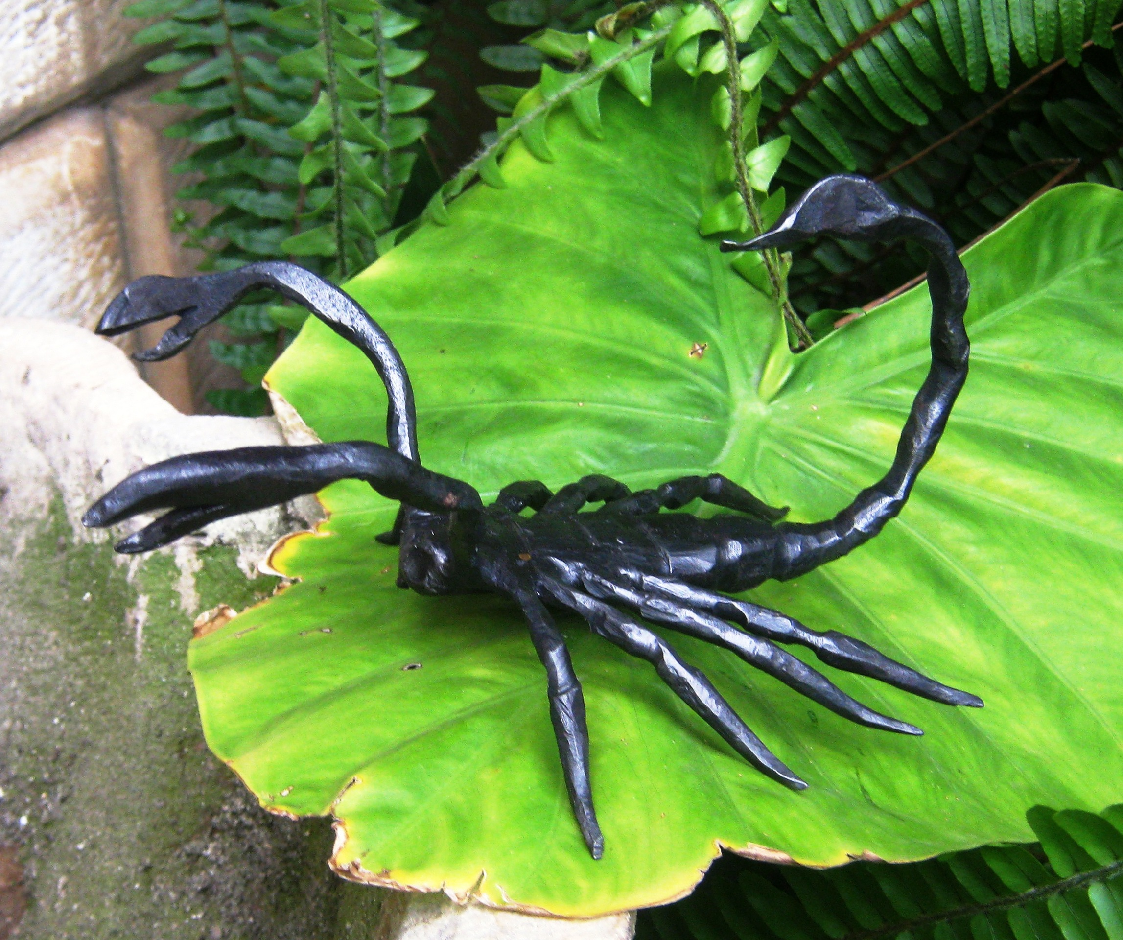 Scorpione in ferro Battuto