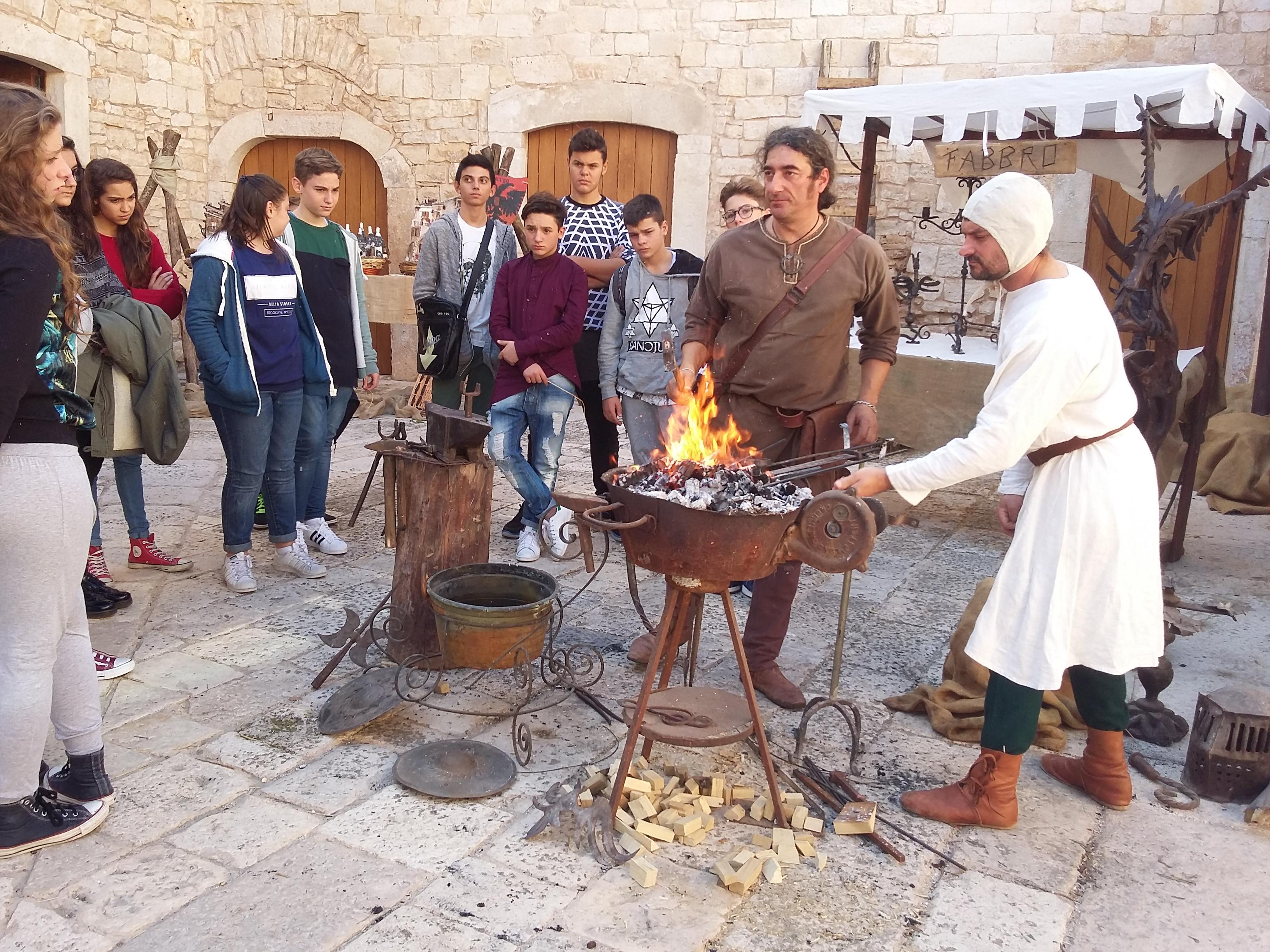 arti e mestieri dal medioevo 2015 castello Sannicandro