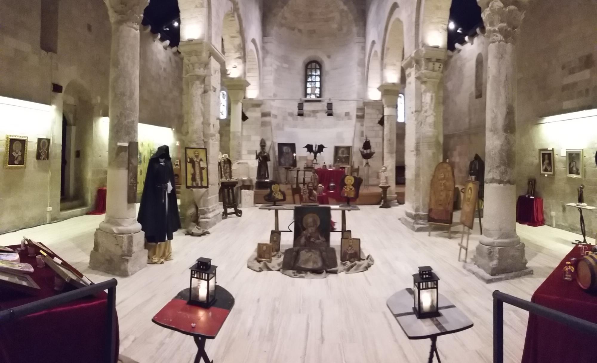 Mostra San Nicola nel medioevo Bari