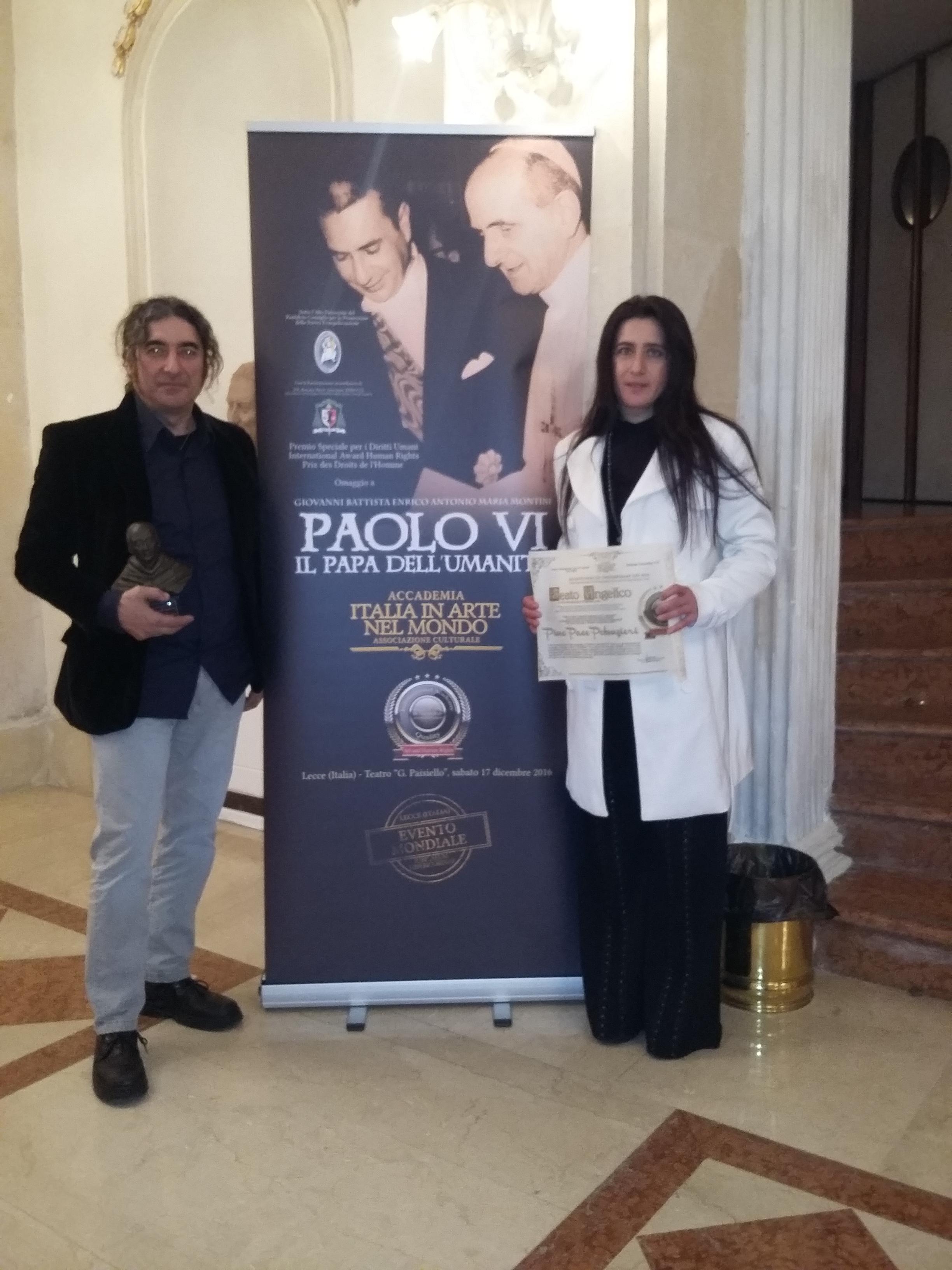 premio beato Angelico 2016